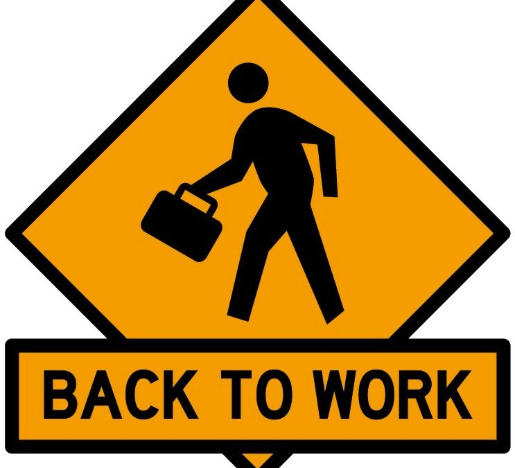 Back to work on April 13 for none essentail workers